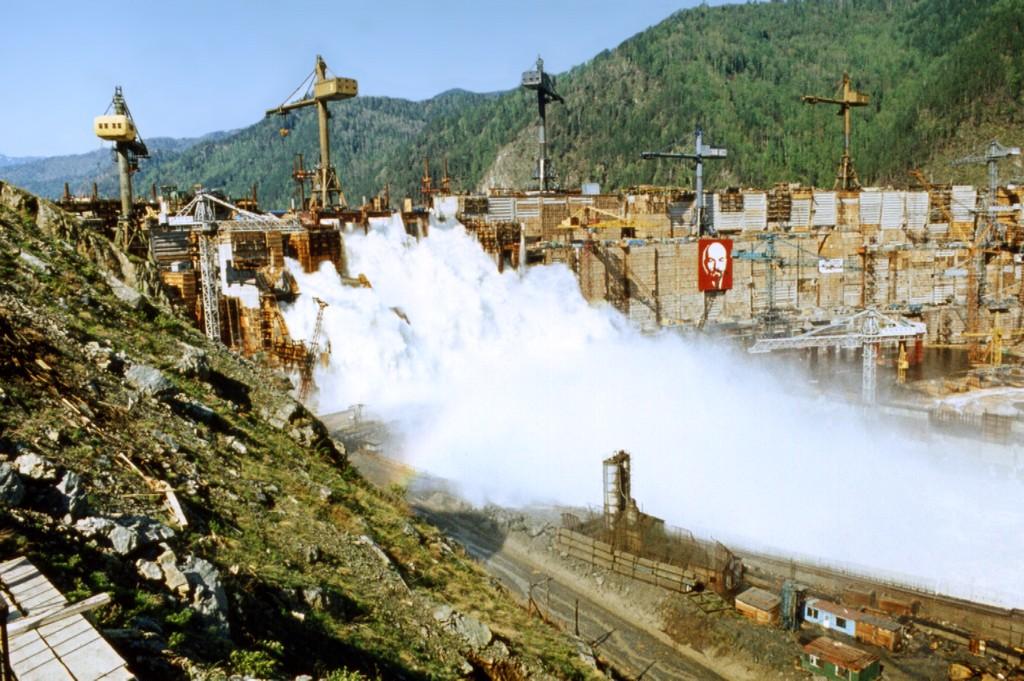 Краткая история строительства Саяно-Шушенской ГЭС